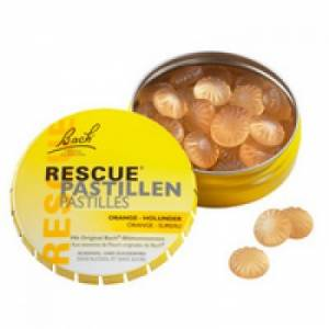 Pastilky RESCUE REMEDY ORANGE 50 g - Bachovy esence